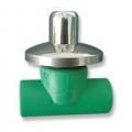 PPR ventil sa kapom i rozetnom MS PIPE LIFE