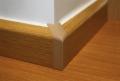 Lajsna za pokrivanje cevi Spoljni ugao Beli