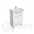 Ormar za kupatilo LUX donji deo 55cm i lavabo TULIP