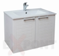Ormar za kupatilo donji deo konzolni LINE i lavabo SLIM 35-890