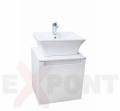 Ormar za kupatilo ART donji deo konzolni 50 cm i umetnički lavabo 35-800-A3