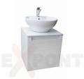 Ormar za kupatilo ART donji deo konzolni 50 cm i umetnički lavabo 35-800-A4