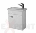 Ormar za kupatilo WHITE donji deo konzolni 25x45 cm i lavabo ALVIT 35-198