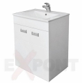 Ormar za kupatilo donji deo LUX 61 cm konzolni i lavabo SLIM